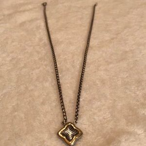 Jewelry - David Yurman Gold and Silver Necklace